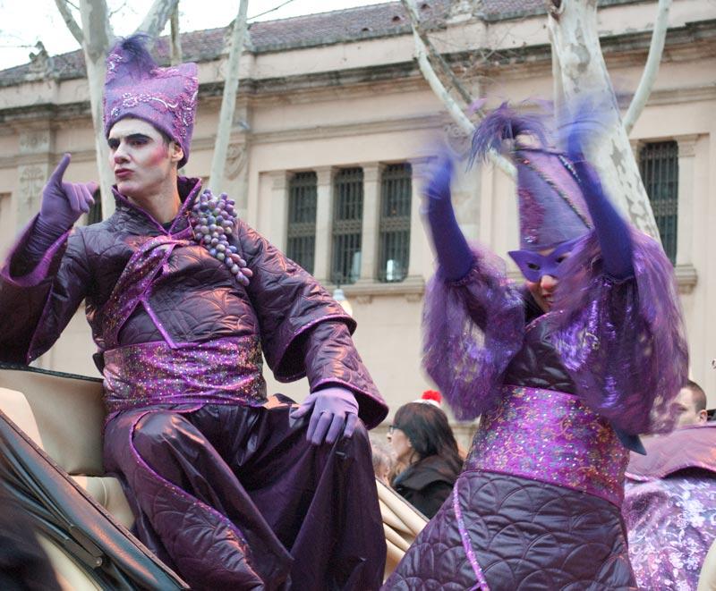 Llegan los reyes carnaval de Sant Martí