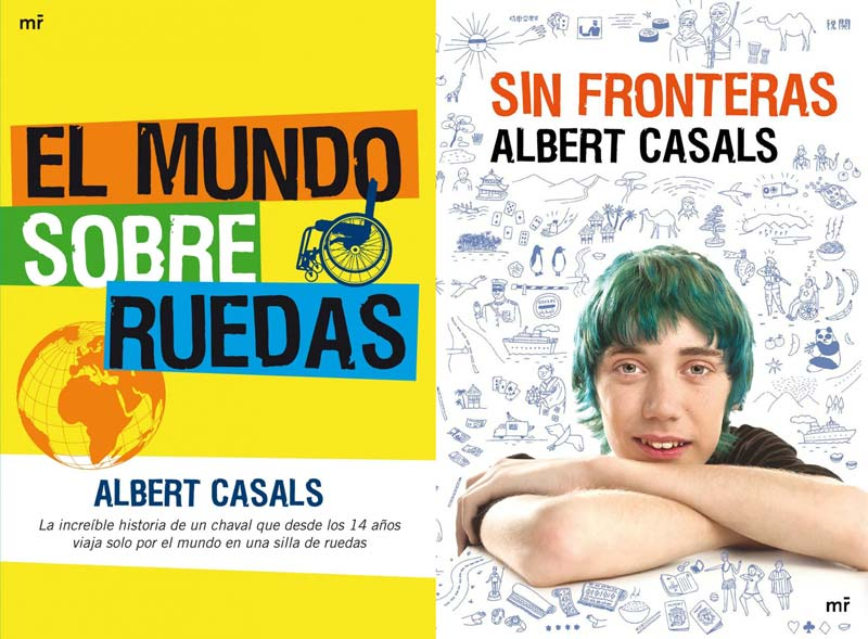 Portada de ambos libros de Albert Casals