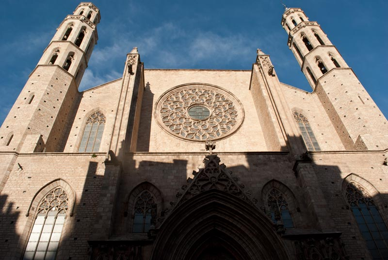 Imagen de la Basílica de Santa María del Mar