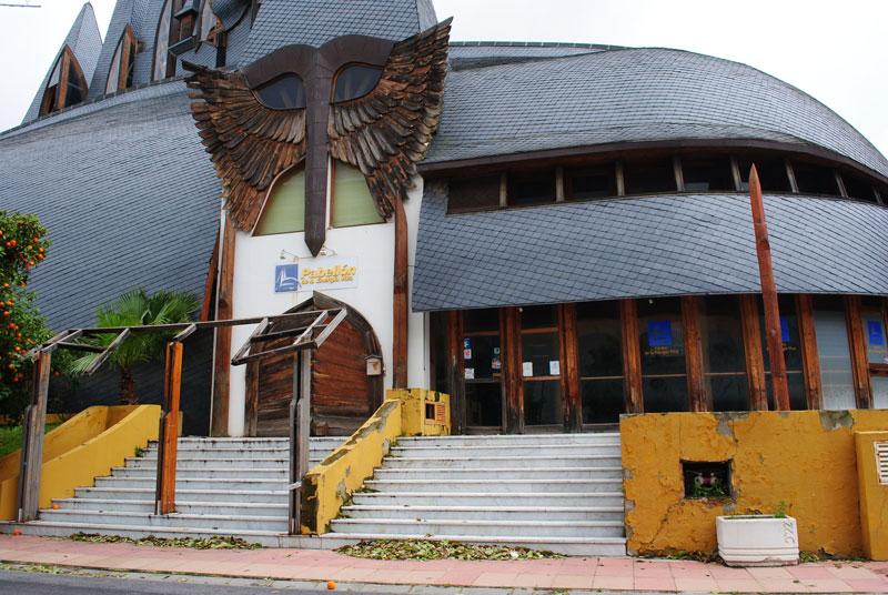 El Pabellón de las Energías Vivas (Hungría). Según la Unesco un bien de interés cultural (2007)