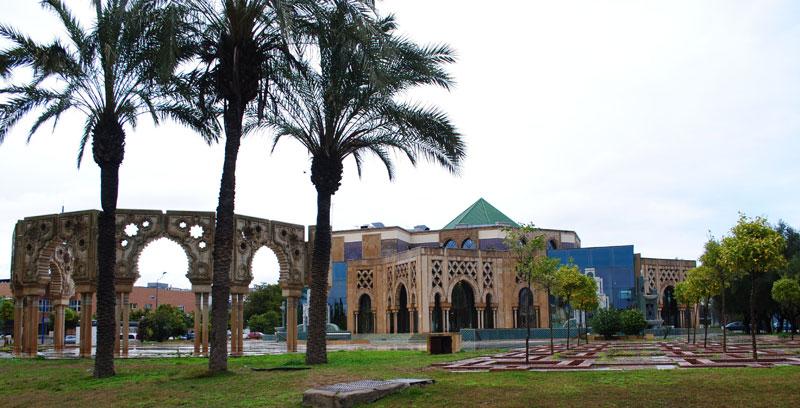 El Pabellón de Marruecos fue uno de los que tuve una mejor impresión por lo elaborado de su arquitectura