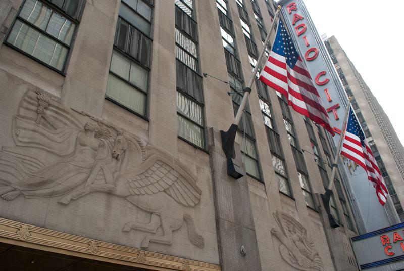 fachada del Radio City