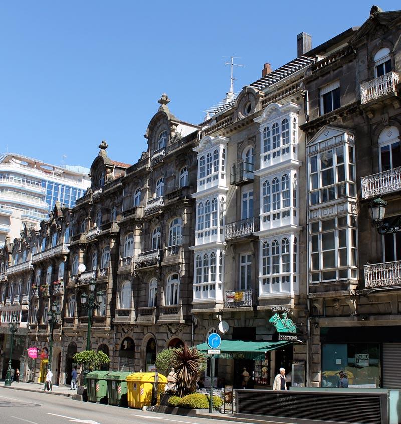 Edificios en Vigo