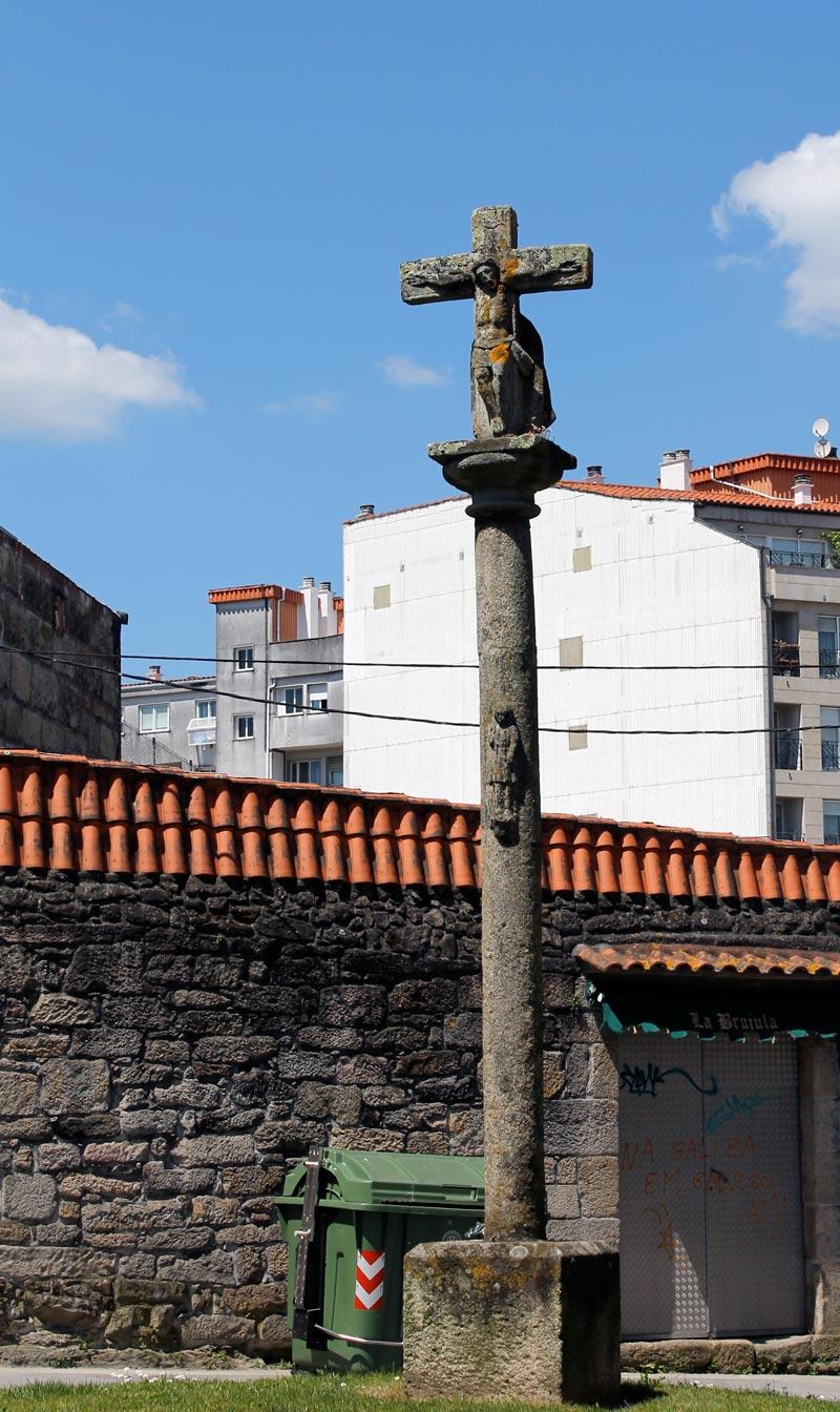 Uno de los muchos Cruceiros diseminados por Pontevedra