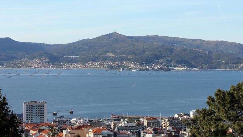 Vista desde el Castro