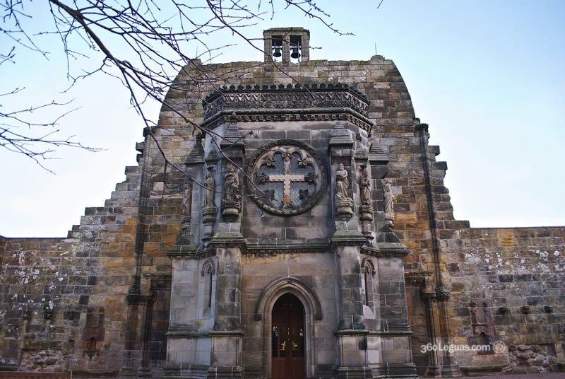 Fachada de la capilla de Rosslyn