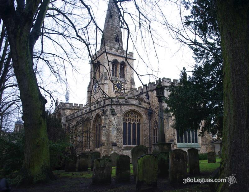 La iglesia de San Pablo en Bedford